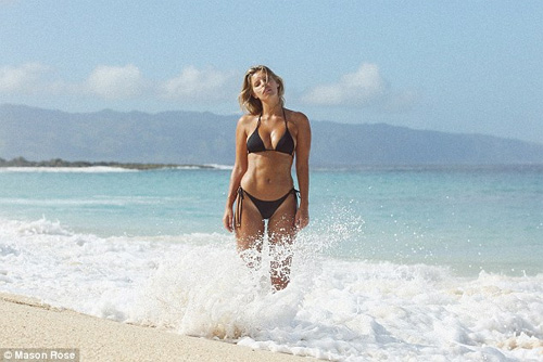 Áo tắm gợi cảm của sao đốt nóng bãi biển dịp cuối năm - 15
