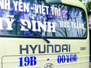 Tin tức Việt Nam - Dùng kim tiêm trấn tiền trên xe khách Mỹ Đình - Việt Trì