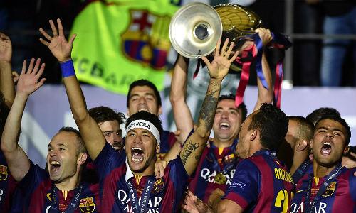 50 hình ảnh thể thao SỐC 2015: Chào Nhà vua Barca (P. cuối) - 15