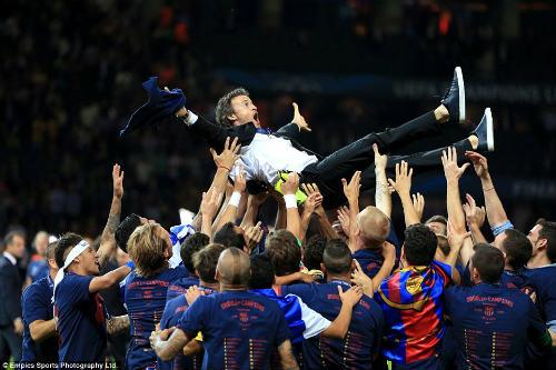 50 hình ảnh thể thao SỐC 2015: Chào Nhà vua Barca (P. cuối) - 14