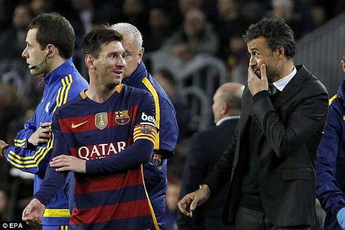 Đá trận 500 cho Barca, Messi tỏa sáng rực rỡ - 4