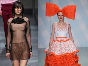 15 váy áo đắt tiền mà kỳ dị trên sàn diễn thế giới