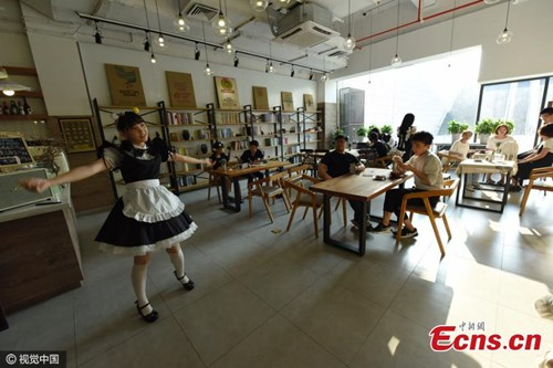 Nhà hàng thuê nữ sinh viên... đút thức ăn cho khách - 1