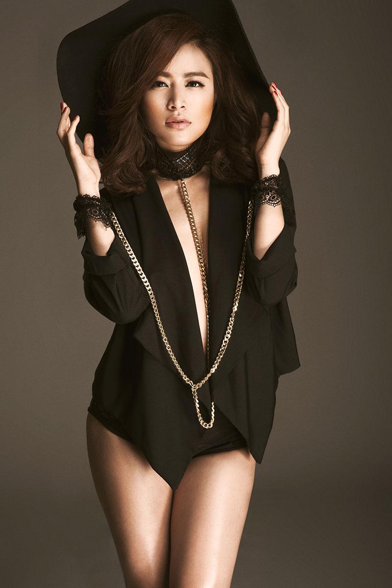 Hoàng Thùy Linh bốc lửa đốt cháy đêm CK Next Top Model - 3