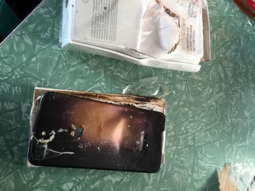 Phát hiện vỏ chiếc Apple iPhone 7 phát nổ - 1