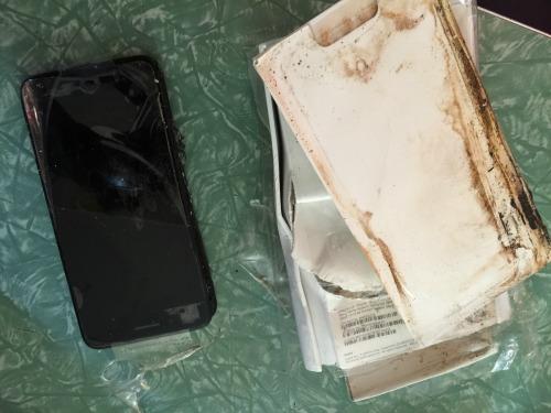 Phát hiện vỏ chiếc Apple iPhone 7 phát nổ - 2
