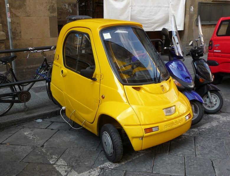 Top 15 mẫu xe nhỏ nhất trên thế giới (P2) - 1