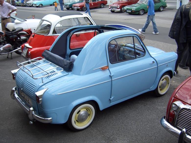 Top 15 mẫu xe nhỏ nhất trên thế giới (P2) - 2