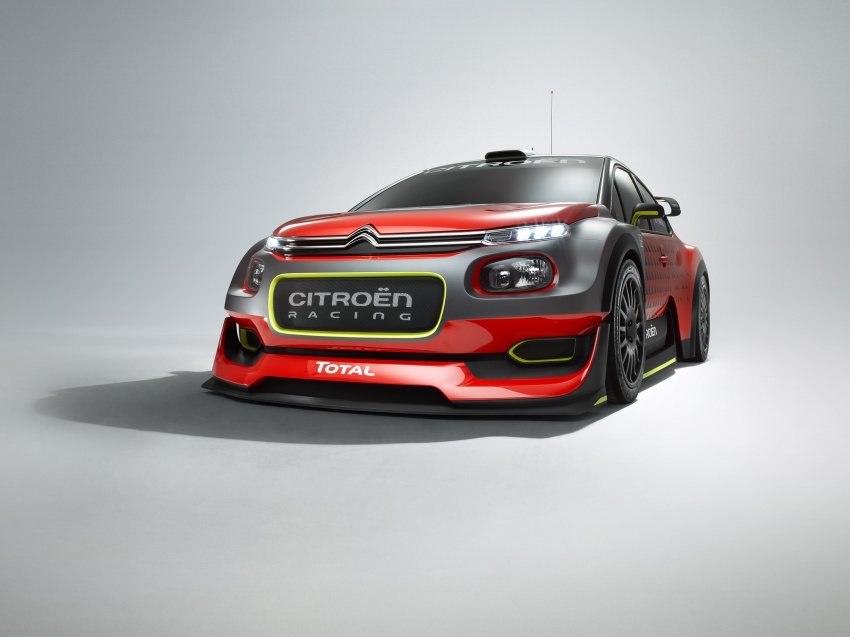 Citroen trở lại với mẫu C3 WRC Concept tại WRC 2017 - 1