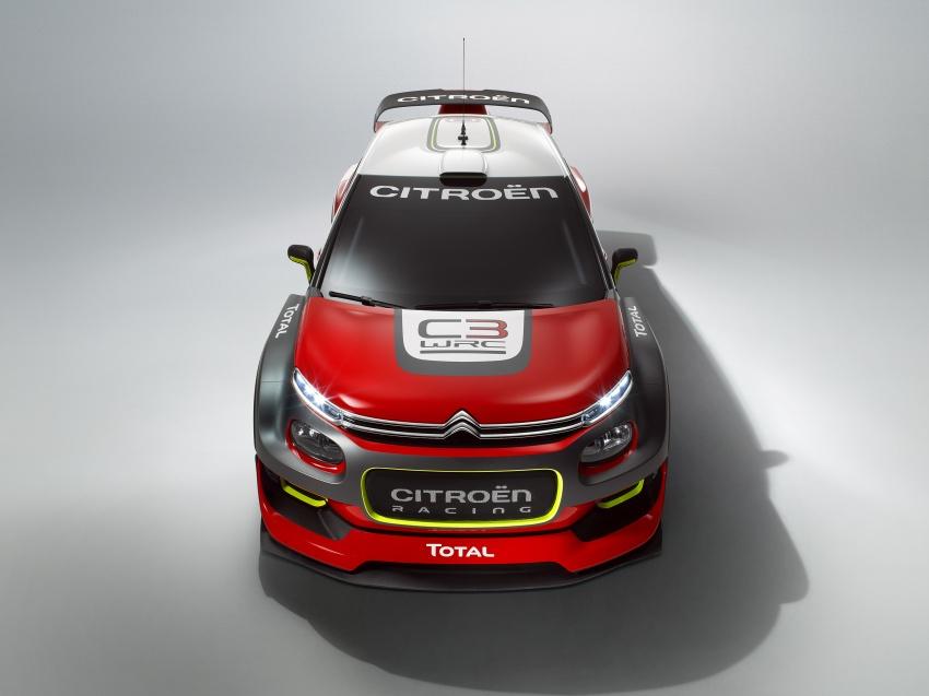 Citroen trở lại với mẫu C3 WRC Concept tại WRC 2017 - 2