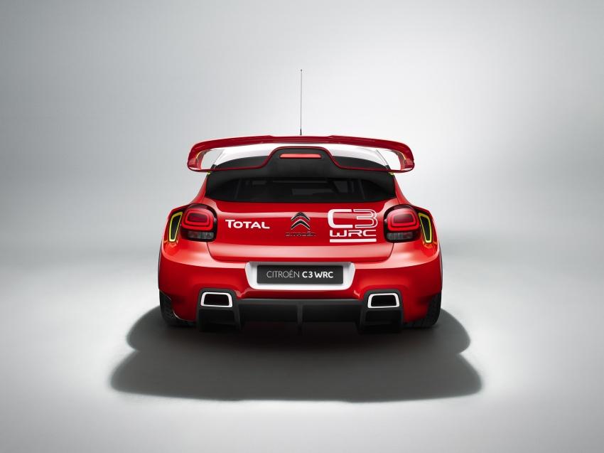 Citroen trở lại với mẫu C3 WRC Concept tại WRC 2017 - 5