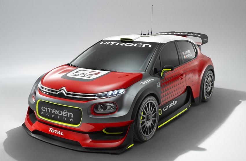 Citroen trở lại với mẫu C3 WRC Concept tại WRC 2017 - 3