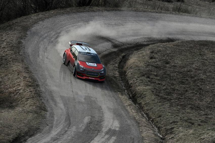 Citroen trở lại với mẫu C3 WRC Concept tại WRC 2017 - 6