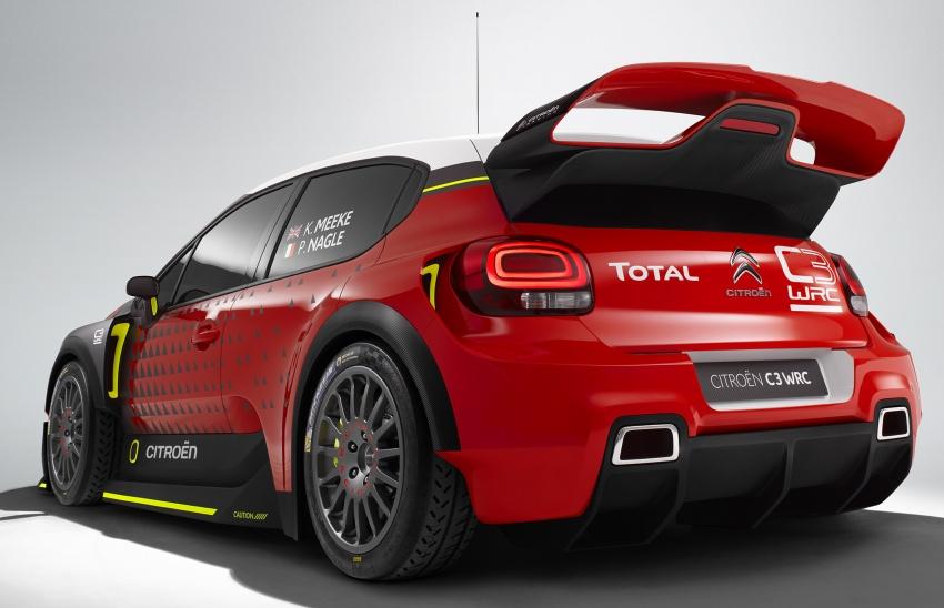 Citroen trở lại với mẫu C3 WRC Concept tại WRC 2017 - 4