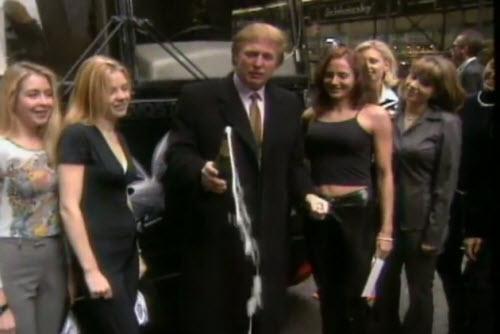 Phát hiện Trump góp vai trong video khêu gợi của Playboy - 1