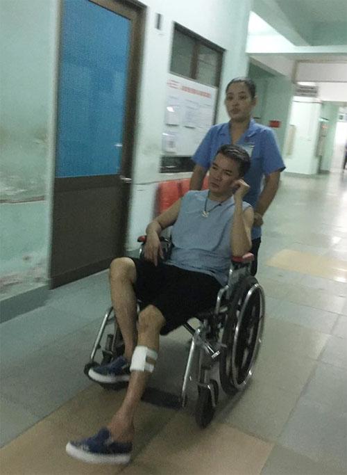 Mr. Đàm khiến fan hoảng hốt vì tai nạn trong đêm - 2