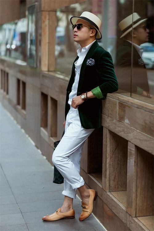 Phong cách sành điệu, nổi bật của quý ông 8X Sài Thành - 1