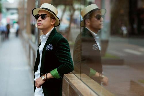 Phong cách sành điệu, nổi bật của quý ông 8X Sài Thành - 5