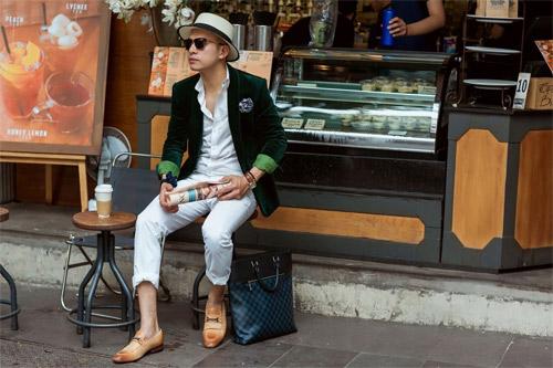 Phong cách sành điệu, nổi bật của quý ông 8X Sài Thành - 7