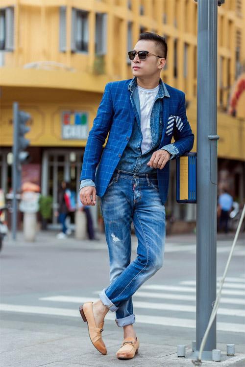 Phong cách sành điệu, nổi bật của quý ông 8X Sài Thành - 13