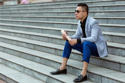 Phong cách sành điệu, nổi bật của quý ông 8X Sài Thành - 10