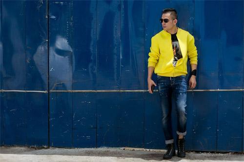 Phong cách sành điệu, nổi bật của quý ông 8X Sài Thành - 15