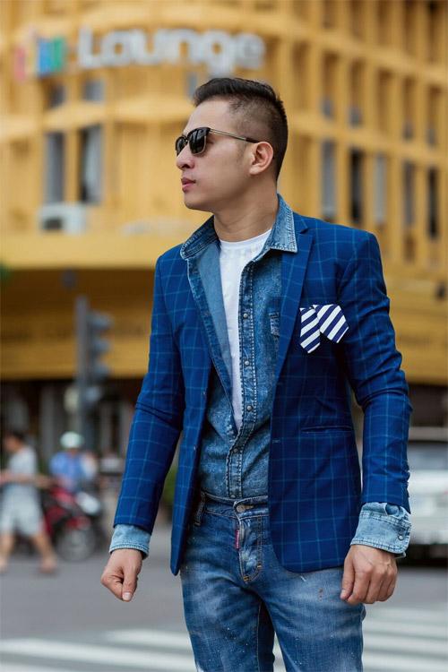 Phong cách sành điệu, nổi bật của quý ông 8X Sài Thành - 12