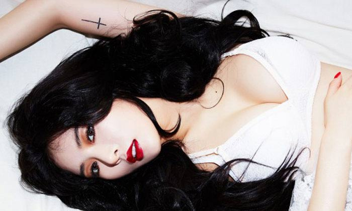 Nữ hoàng sexy của làng nhạc Hàn đẹp nhờ chơi cầu lông - 2