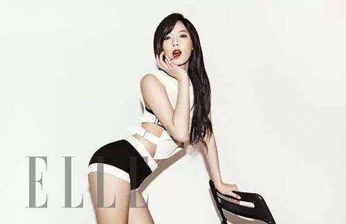 Nữ hoàng sexy của làng nhạc Hàn đẹp nhờ chơi cầu lông - 6