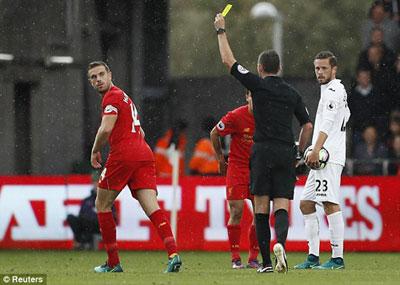 Chi tiết Swansea - Liverpool: Pha phạm lỗi đáng trách (KT) - 5
