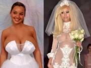Thời trang - Kinh ngạc với những bộ váy cưới thiếu vải, kỳ dị