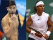 """Thú vị: Nadal đọ tài bi-a với """"hot-boy"""" bơi lội"""