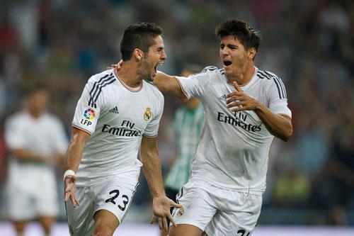"Real  Madrid – Eibar: ""Trảm"" Ramos & Benzema - 2"