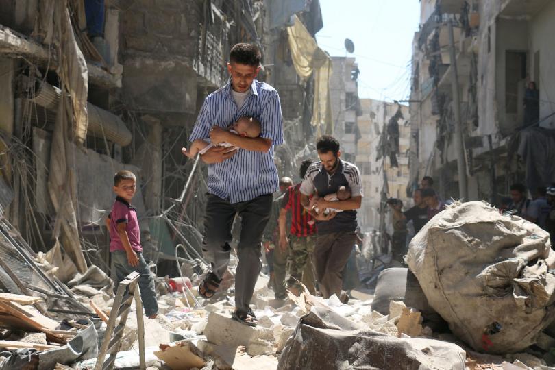 100 trẻ em chết vì không kích trong tuần qua ở Syria - 1