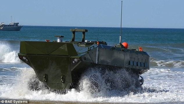 """Khám phá xe bọc thép biết chạy """"ầm ầm"""" dưới biển của Mỹ - 2"""