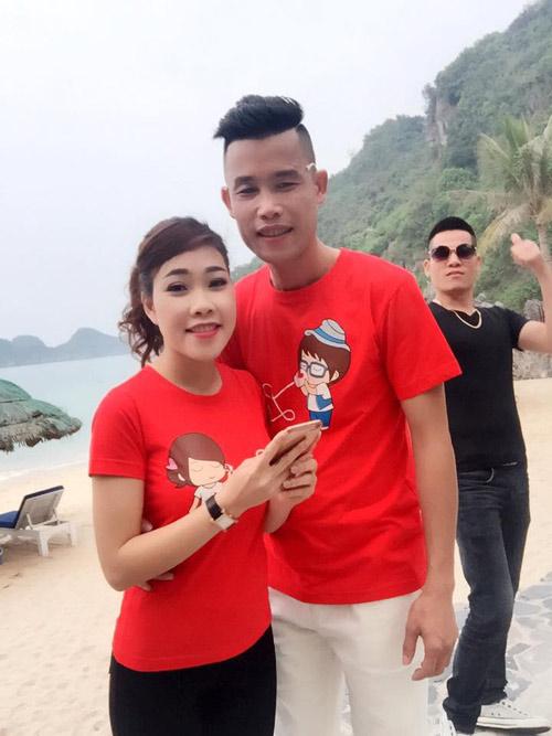 """Vẻ đẹp mơn mởn những cô """"vợ 3"""" kém 20 tuổi của danh hài Việt - 5"""
