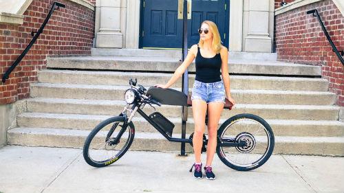 Đánh giá 2016 Tempus CR-T1: Xe đạp điện phong cách cafe racer - 1