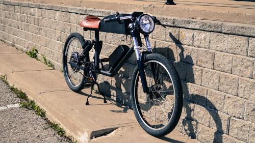 Đánh giá 2016 Tempus CR-T1: Xe đạp điện phong cách cafe racer - 5