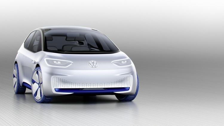 Chi tiết ngoại hình mẫu xe điện Volkswagen I.D. Concept mới - 2