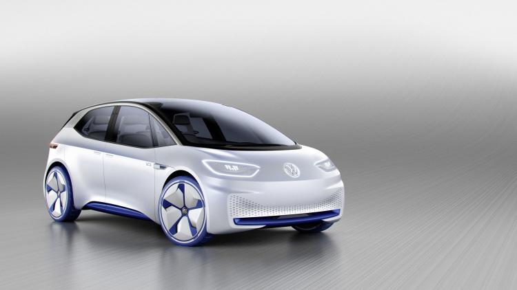 Chi tiết ngoại hình mẫu xe điện Volkswagen I.D. Concept mới - 1