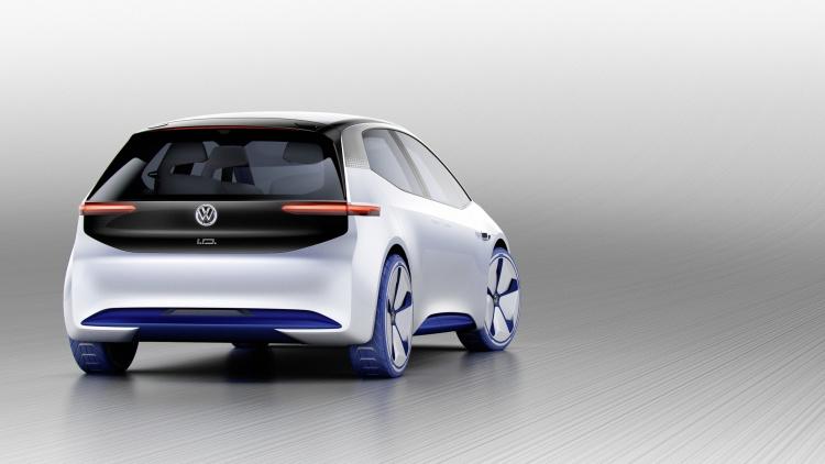 Chi tiết ngoại hình mẫu xe điện Volkswagen I.D. Concept mới - 6