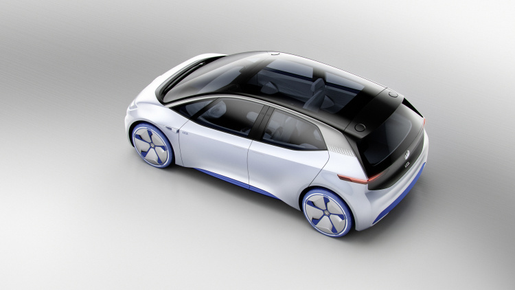 Chi tiết ngoại hình mẫu xe điện Volkswagen I.D. Concept mới - 5