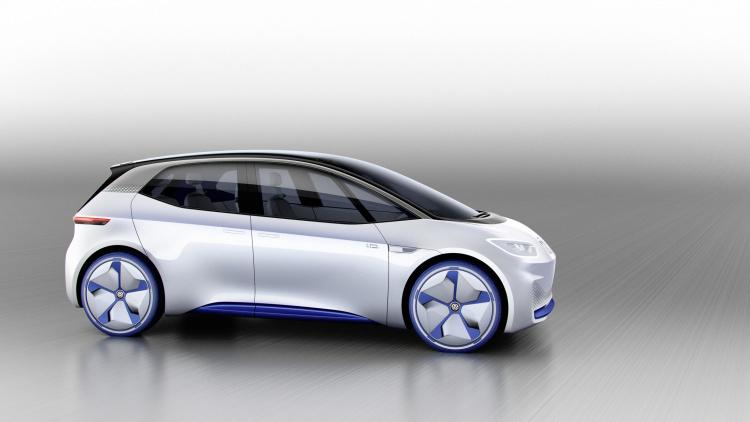 Chi tiết ngoại hình mẫu xe điện Volkswagen I.D. Concept mới - 4