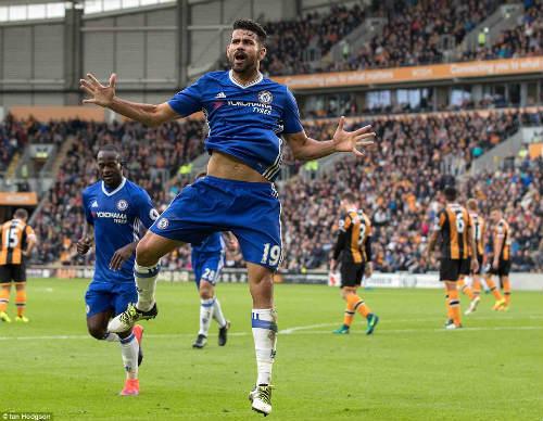 """Sinh mệnh Chelsea đang phụ thuộc vào """"ống thở"""" Costa - 1"""