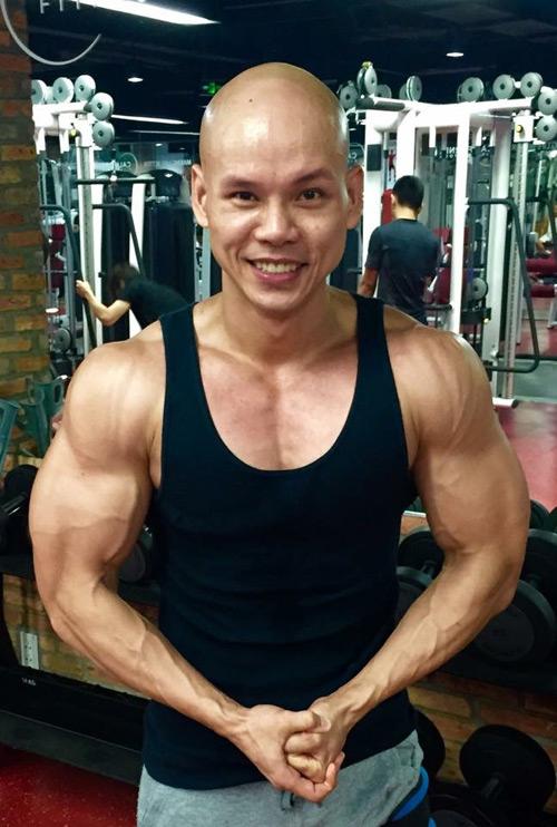Choáng vì body như lực sĩ của loạt sao nam Việt - 1