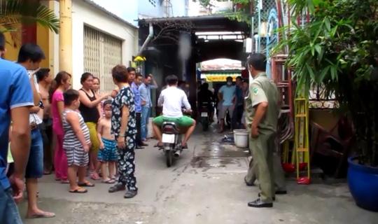 TP HCM: Một người bị đâm gục trước sân chùa - 2