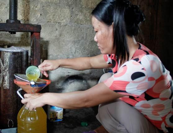 Độc đáo làng dầu lạc ở Nghệ An - 2