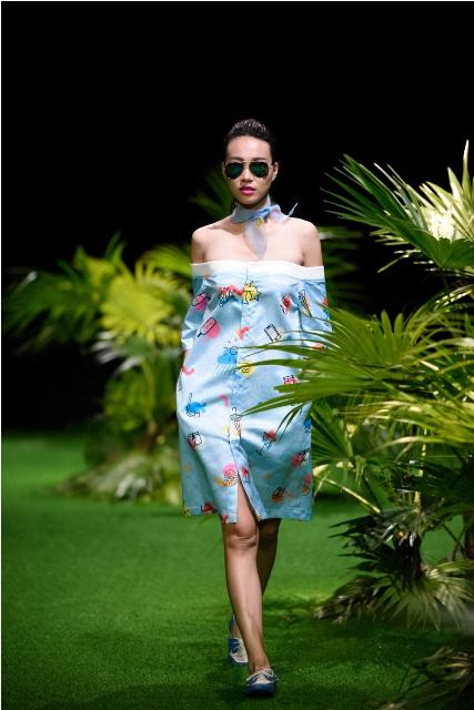 Dàn mẫu nhí tung hoành sàn catwalk tuần lễ thời trang VN - 3