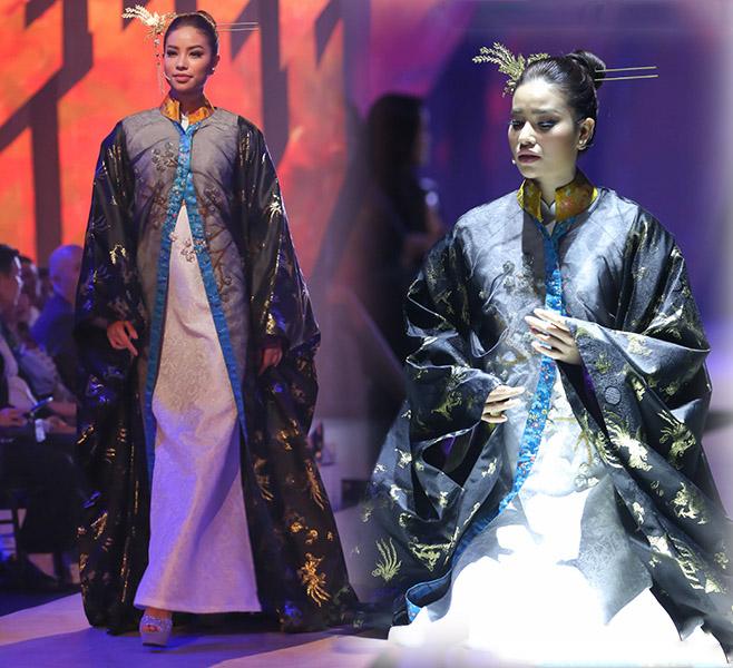 4 hoa hậu Việt tài sắc tự tin làm vedette trên sàn diễn - 2