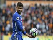 """Bóng đá - Sinh mệnh Chelsea đang phụ thuộc vào """"ống thở"""" Costa"""